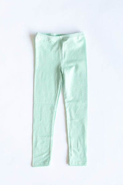 Hailee Mint Basic Leggings