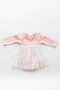 Kenna Blush Lace Onesie