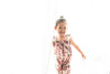 Elle Blush Bouquet Toddler Jumpsuit