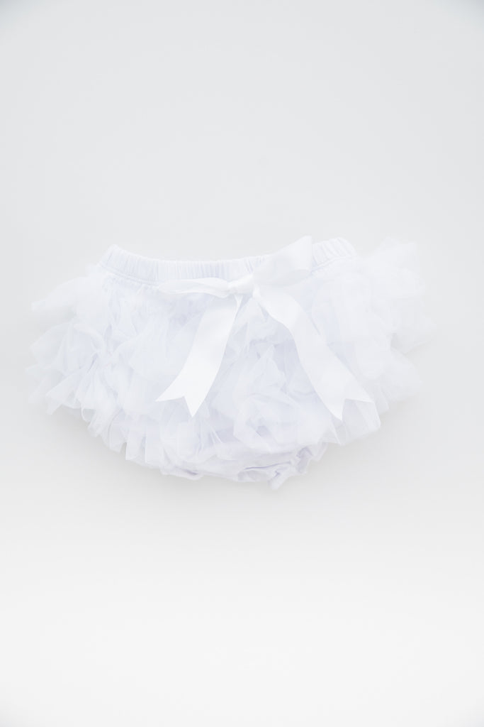 Savannah Baby Tutu / Bloomer White