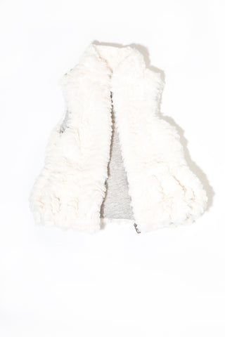 Alba Faux Fur Vest by Splendid