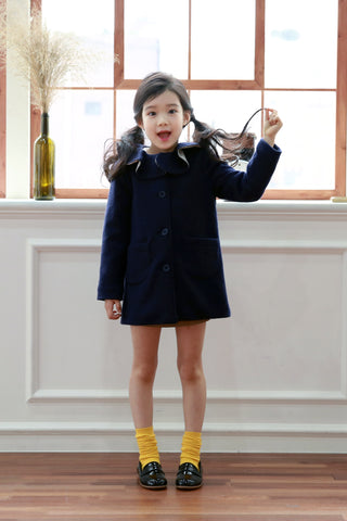 Jeanne Navy Knit Jacket by Jeux de Bebe
