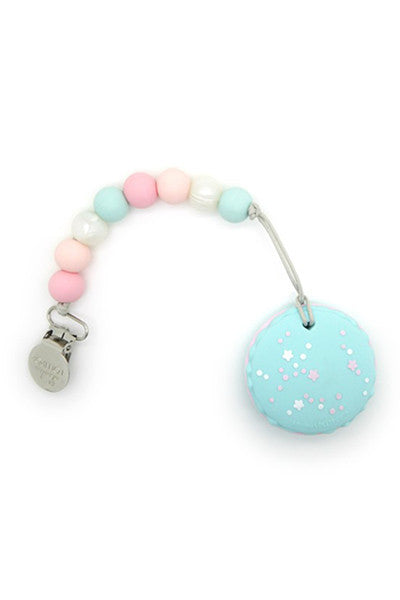 Joey Macaroon Teether With Holder