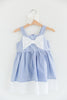 Madison Blue Polka Dot Dress