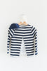 Gwen Navy Blue Striped Top