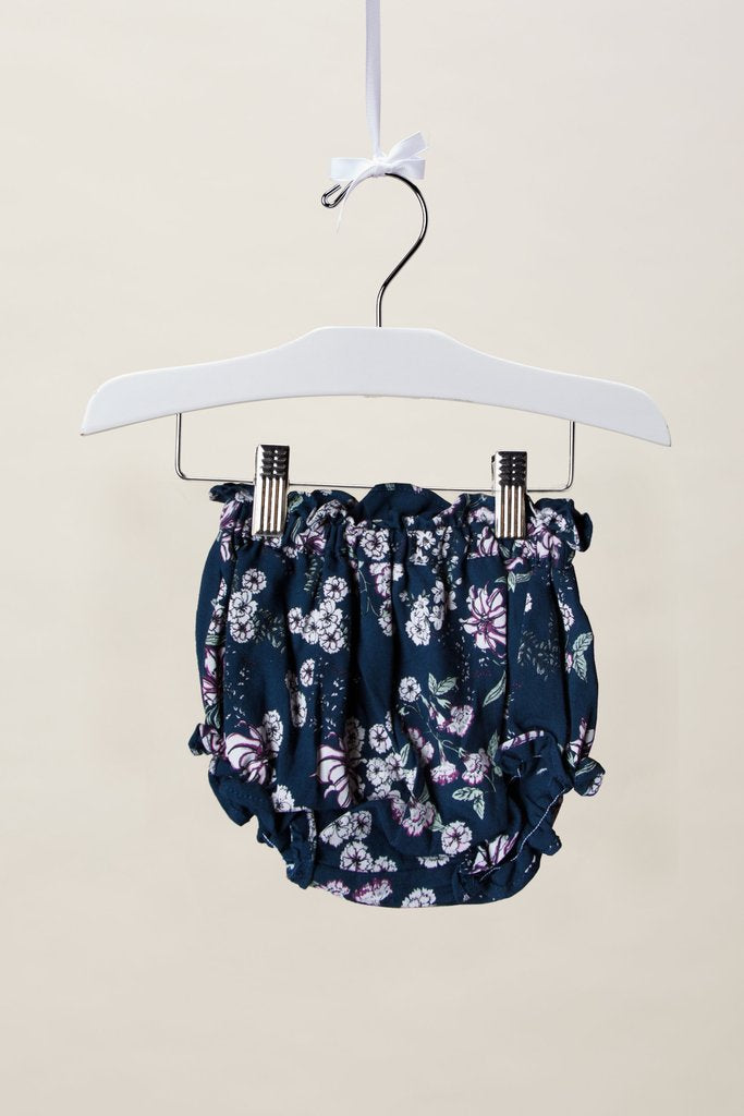 Juliet Juniper Floral Bloomer (Midnight Floral)