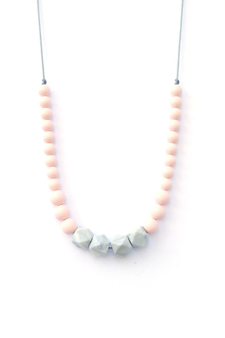 Lori Marble Statement Teething Necklace