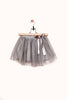 Avery Grey Sparkle Tulle Skirt