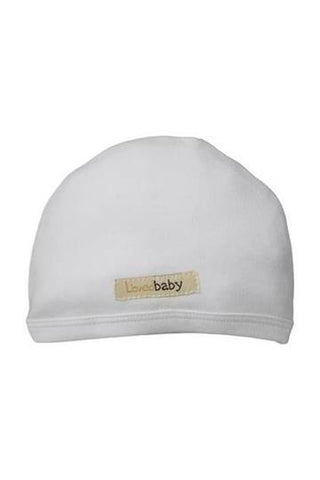 Misty White Organic Cute Cap by L'ovedbaby