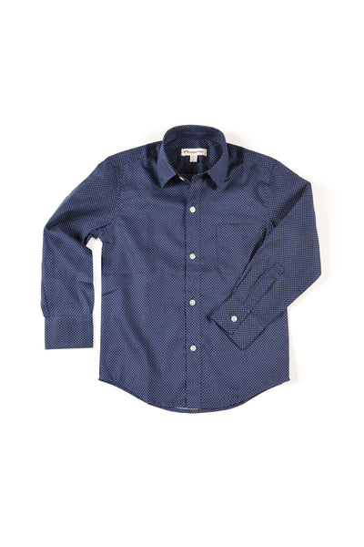 Paul Standard Shirt Navy by Appaman
