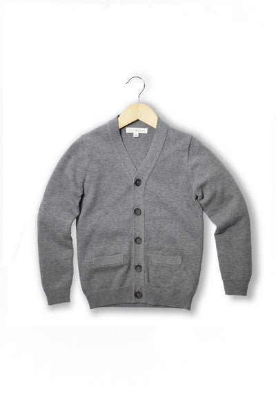 Oliver Grey Layering Cardigan