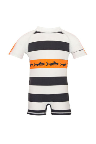 Owen Tribal Shark Long Sleeve Swim Suit