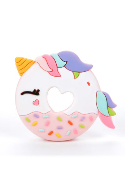 Unicorn Teether - Pink