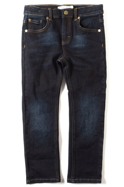 Jackson Slim Leg Denim - Dark Wash