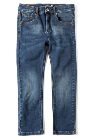 Jackson Slim Leg Denim - Medium Wash