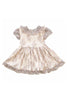 Rosalyn Lace Baby Doll Dress in Muave by Paush