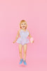 Kailee Ice Cream Heart Romper in Lilac by Paush