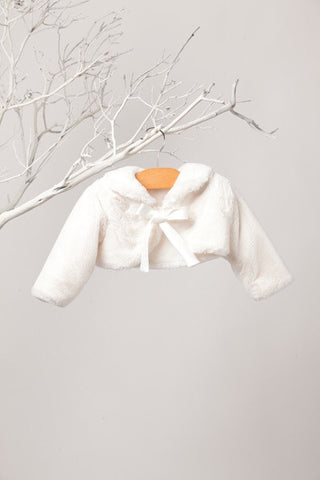 Amanda Collar and Ribbon Fur Jacket