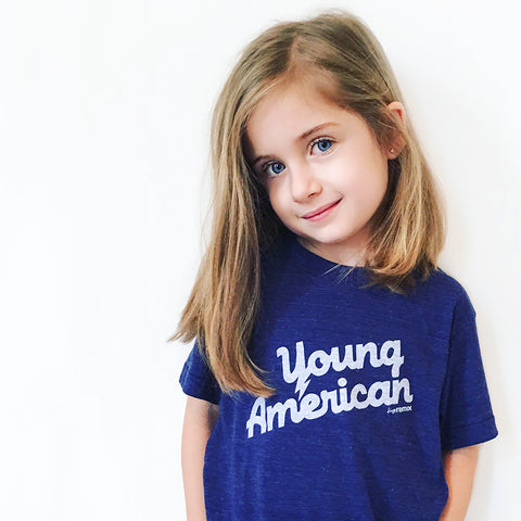 Young American tee on Paige - tiny remix