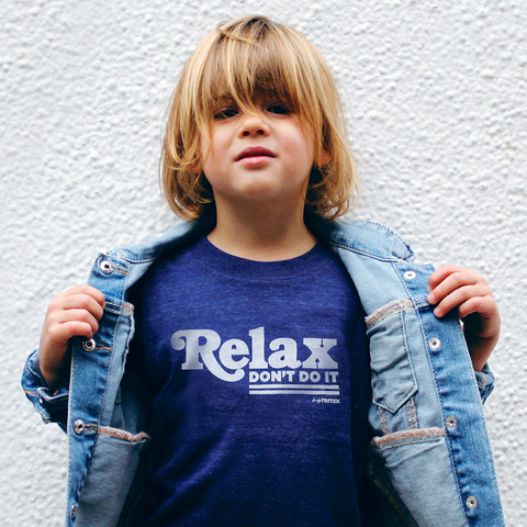 Relax don't do it tee on Jones - tiny remix
