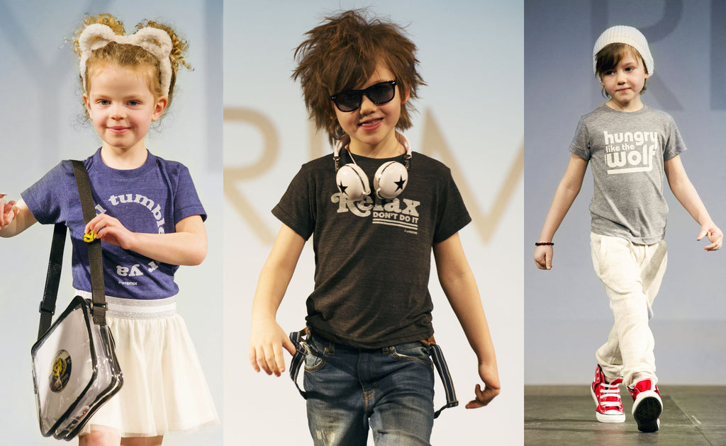 tiny remix - kids fashion runway - london