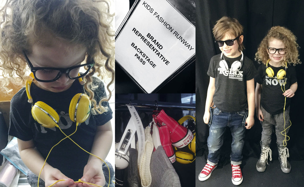 backstage butterflies - kids fashion runway - tiny remix