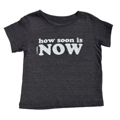how soon is now - black tee - vol.1 collection - tiny remix