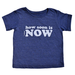 how soon is now - indigo tee - vol.1 collection - tiny remix