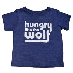 hungry like the wolf - indigo tee - vol.1 collection - tiny remix