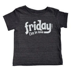 friday i'm in love - black tee - vol.1 collection - tiny remix
