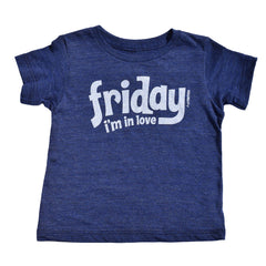 friday i'm in love - indigo tee - vol.1 collection - tiny remix