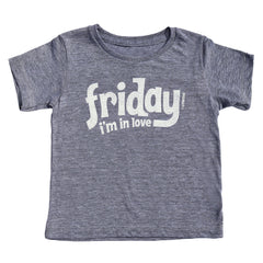 friday i'm in love - grey tee - vol.1 collection - tiny remix