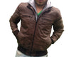 Men's Hooded Leather Jacket - Custom Leather Jackets
