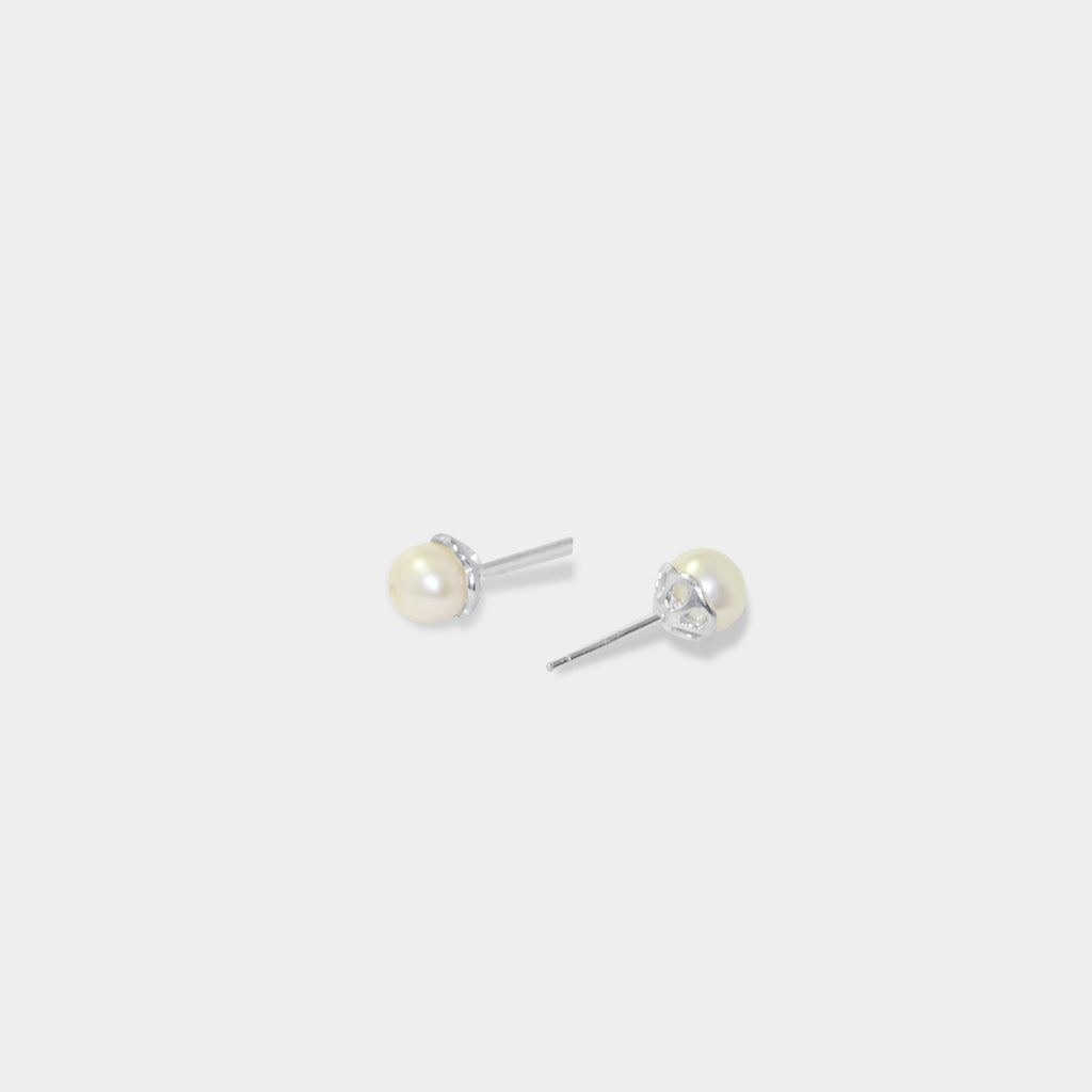 8mm Classic Pearl Earrings