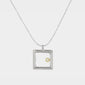 Petite Square Frame Necklace