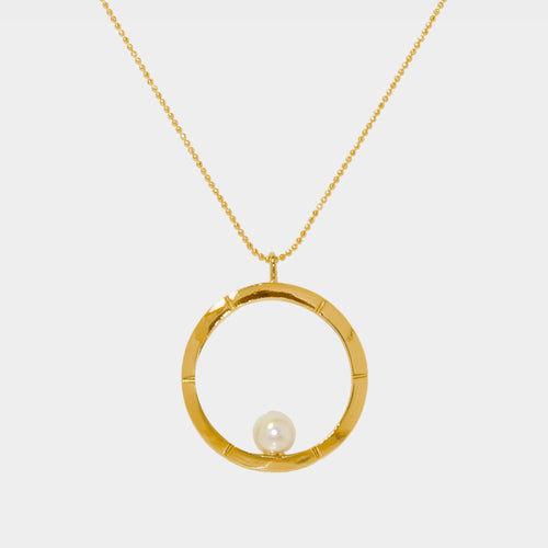 Classic Aureole Frame Necklace