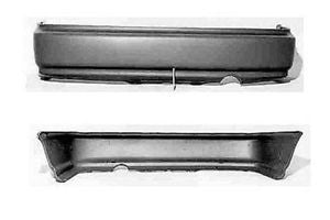 HONDA CIVIC BUMPER RR BLACK 96-98