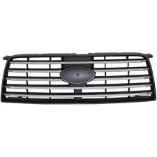 SUBARU FORESTER 2006-2008 GRILLE PAINTED-SILVER (BASE MODEL W/O SPORT)