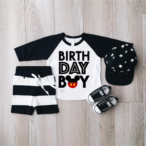 Birthday Boy Disney Shirt