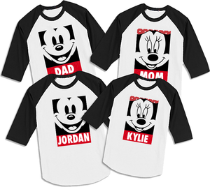 Obey Disney Family Shirts