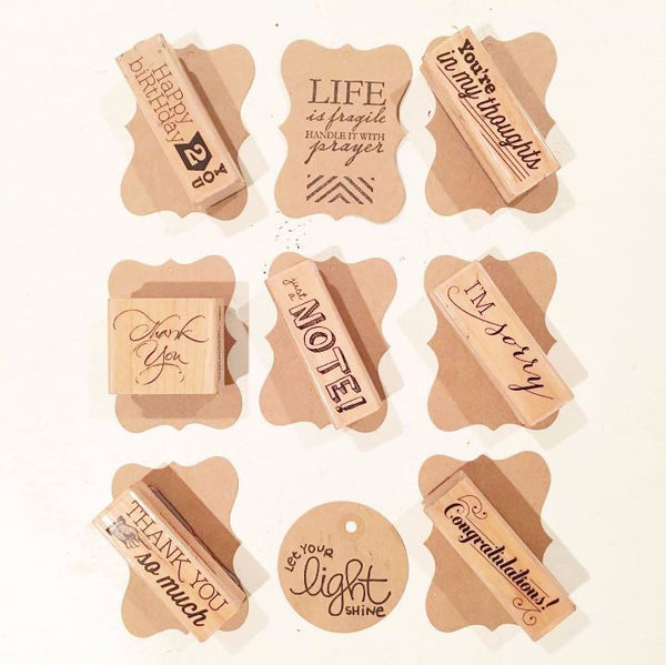 Candle Tags