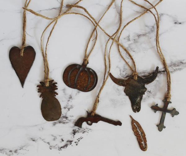 Rustic Metal Charms