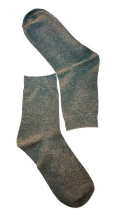 Grey Plain Sock
