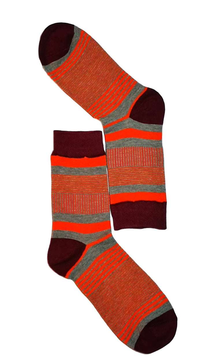 Striped mens socks