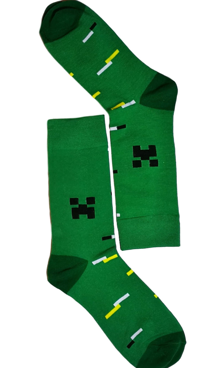 Green Tetris Sock