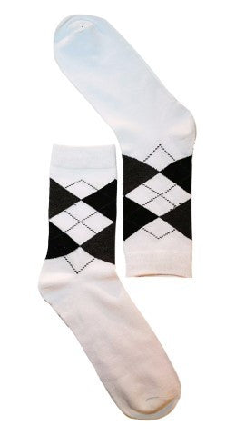 White Diamond Sock