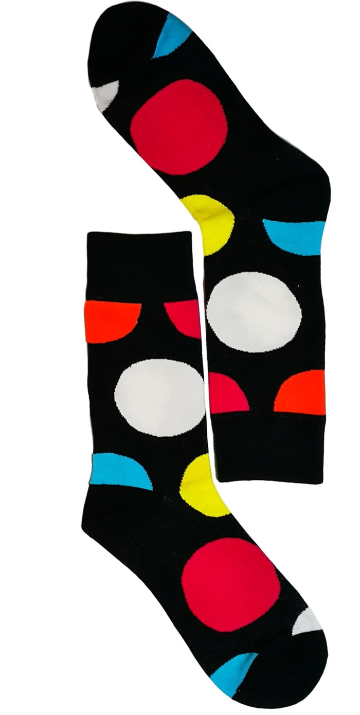 men dress socks - Big Dot Colour Sock