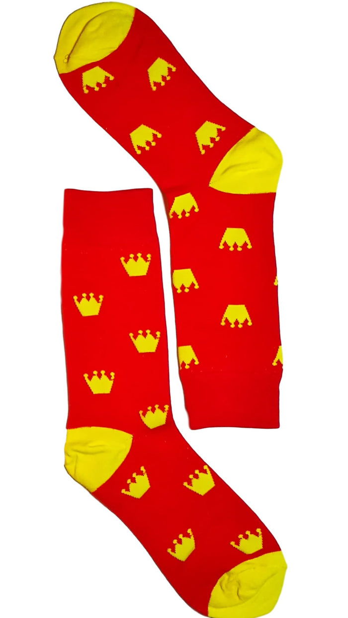 Red Crown Sock