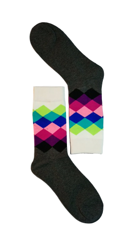 Diamond Colour Sock