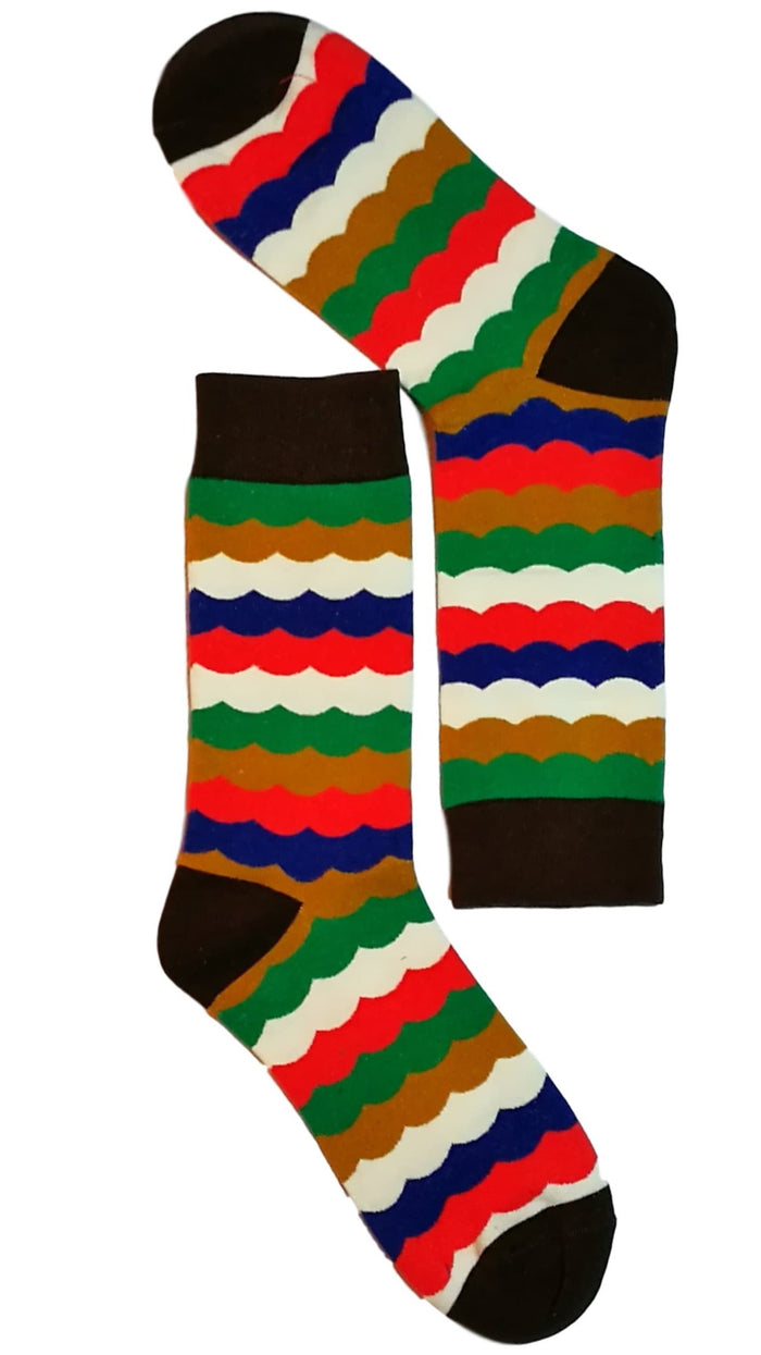 Crowd Wave Sock